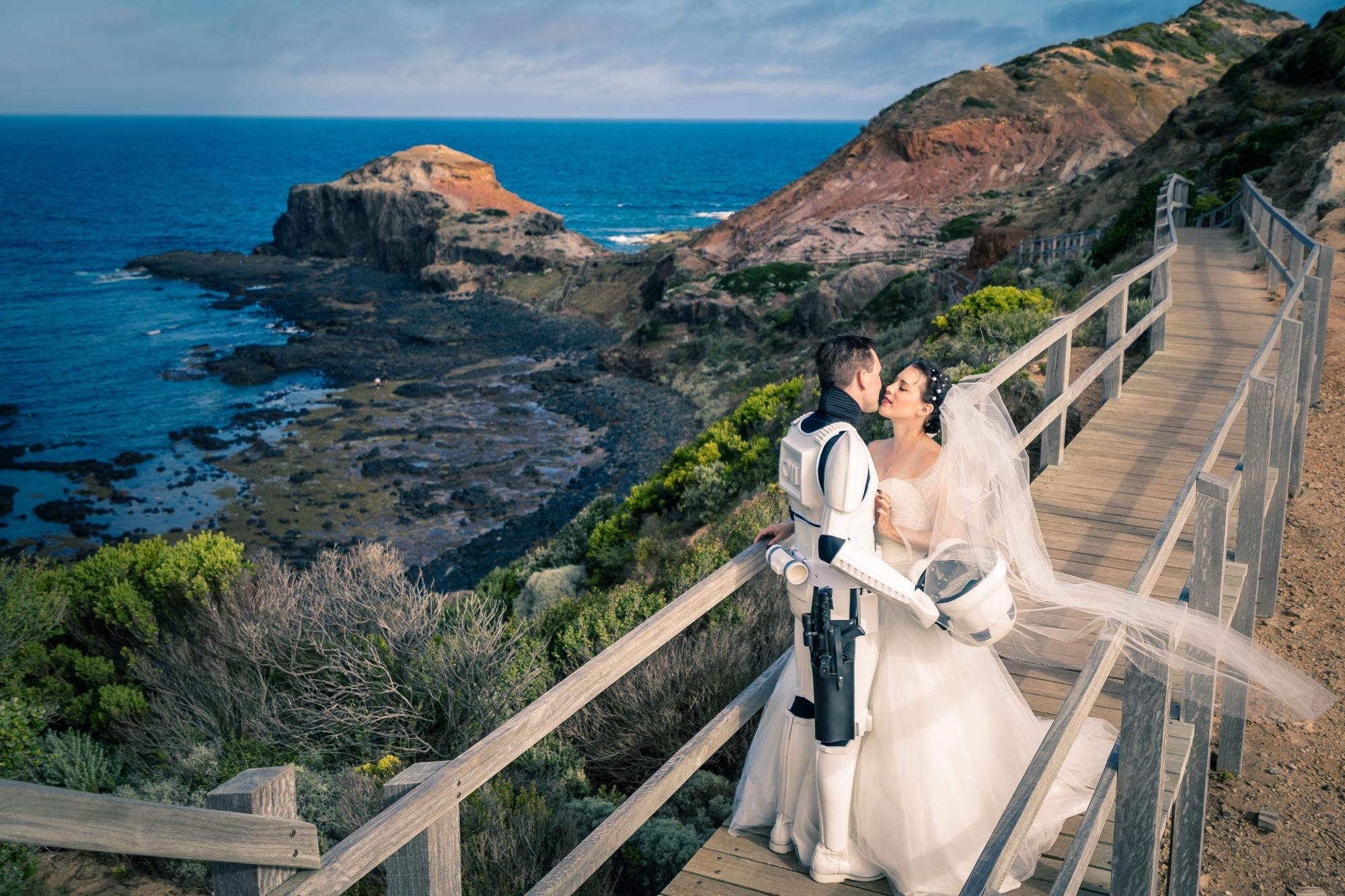 墨爾本婚紗攝影 Cape Schanck 山克角燈塔 Mornington Peninsula 摩寧頓半島