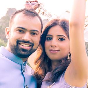 Amisha & Pranav