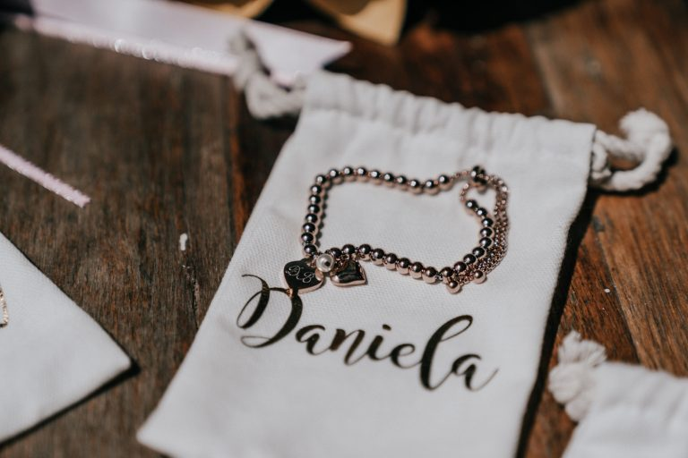 custom name personalised Pandora wedding charm