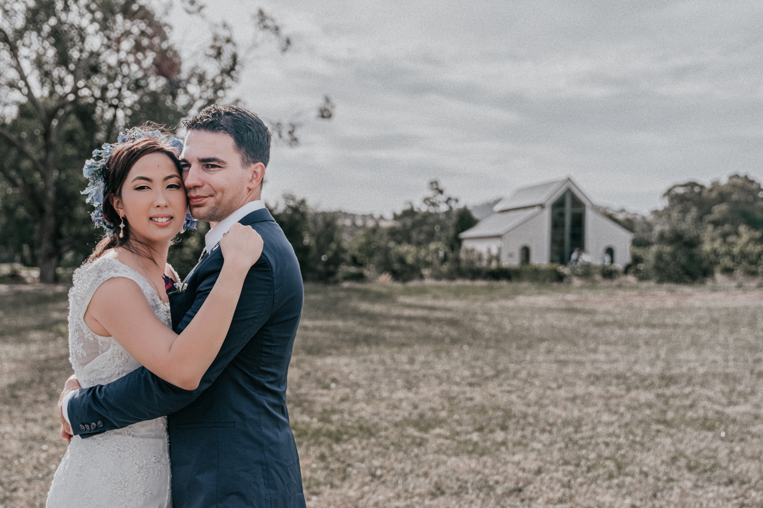 bride groom portrait at Immerse Yarra Valley 2018 by Black Avenue Productions