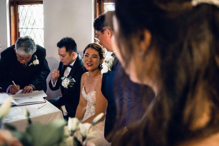 Melbourne church wedding ceremony 4