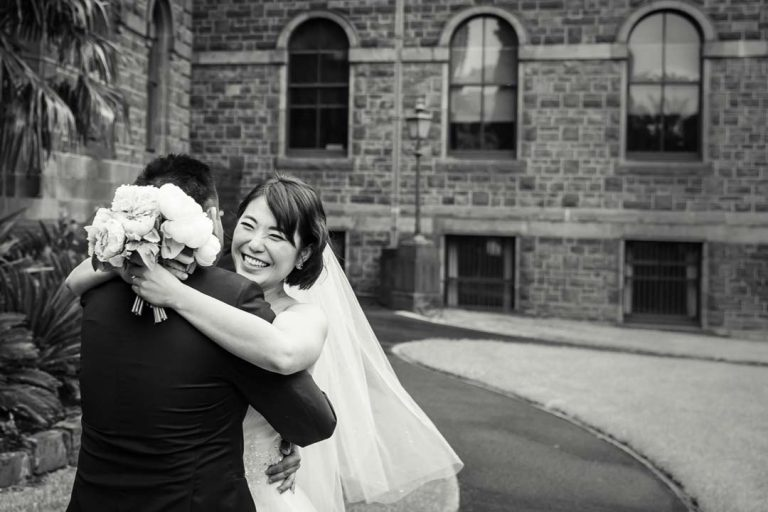 Melbourne pre wedding photography sample in black and white by Black Avenue Productions