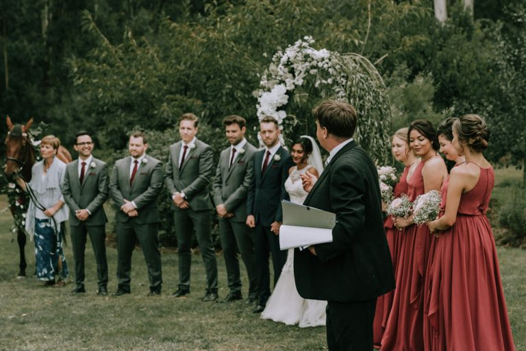 Rustic-wedding-ceremony-Melbourne-1