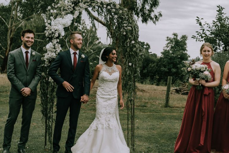 Rustic-wedding-ceremony-Melbourne-2
