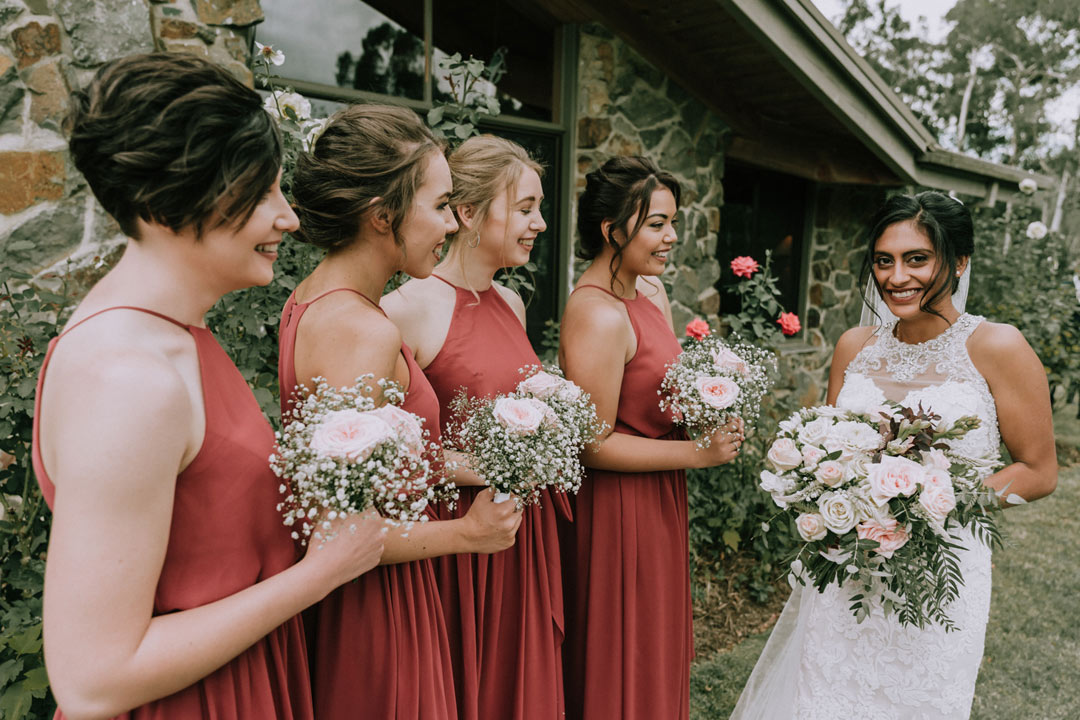 bridal party wedding photo goal taken by Black Avenue Productions