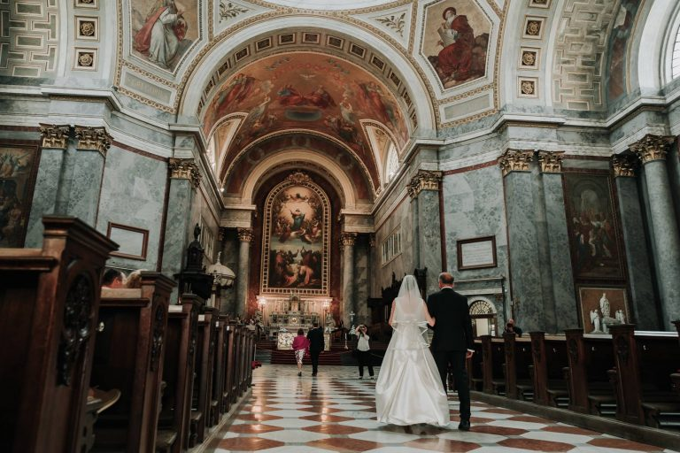 Esztergomi Basilica destination wedding Black Avenue Productions 12