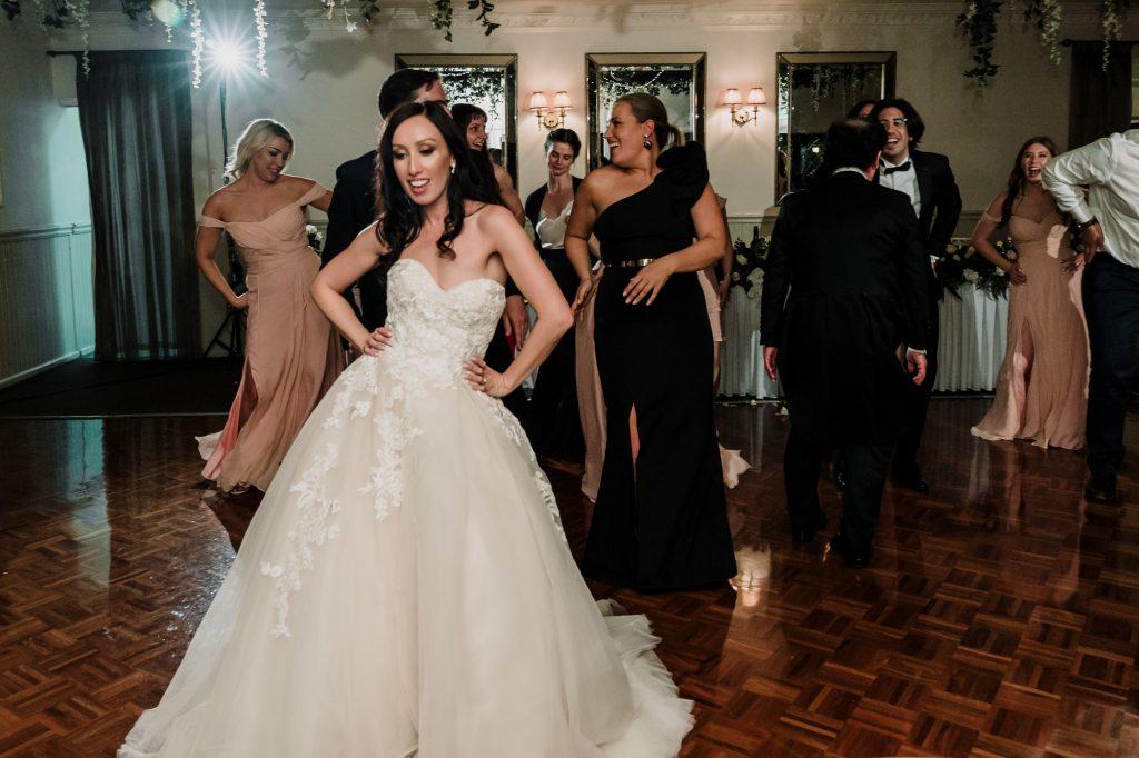 Poets Lane wedding reception Melbourne Black Avenue Productions3