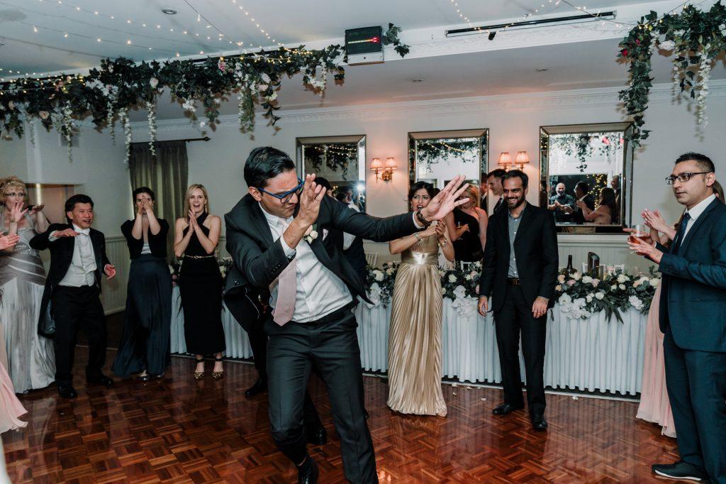 Poets Lane wedding reception Melbourne Black Avenue Productions4