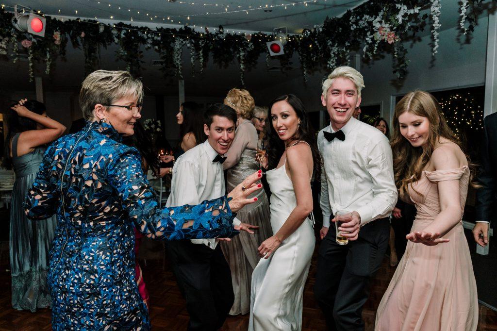 Poets Lane wedding reception Melbourne Black Avenue Productions6