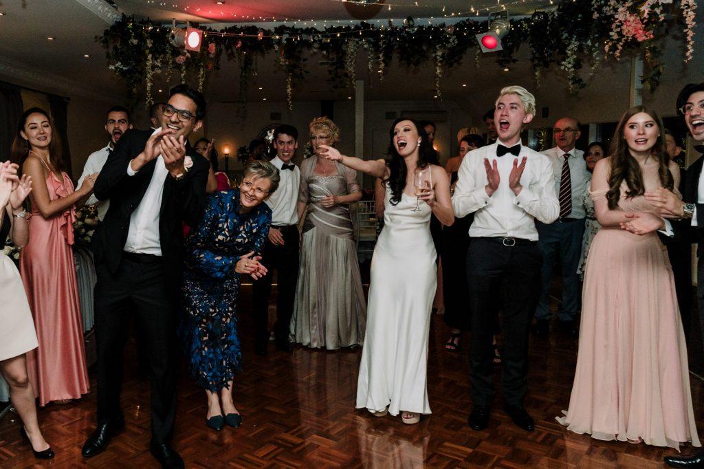 Poets Lane wedding reception Melbourne Black Avenue Productions7
