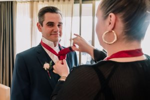 Grooms preparation by Black Avenue Productions 3