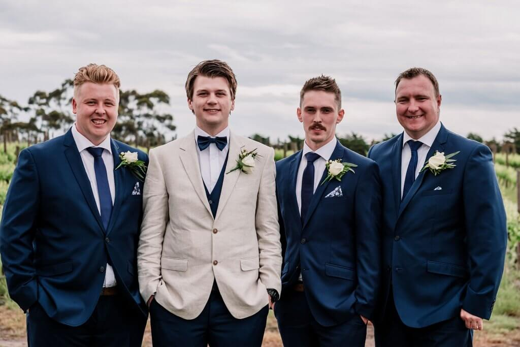 Groomsmen and Groom