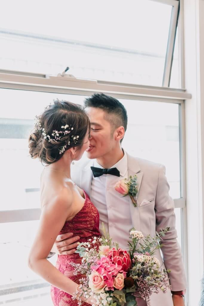 Asian Bride and Groom Summer Wedding