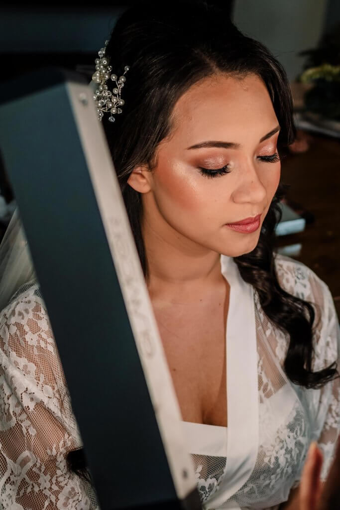 Steph Bride Makeup