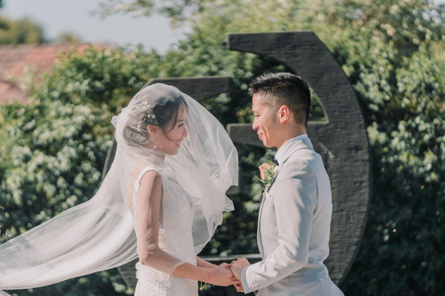 Asian summer wedding in Melbourne