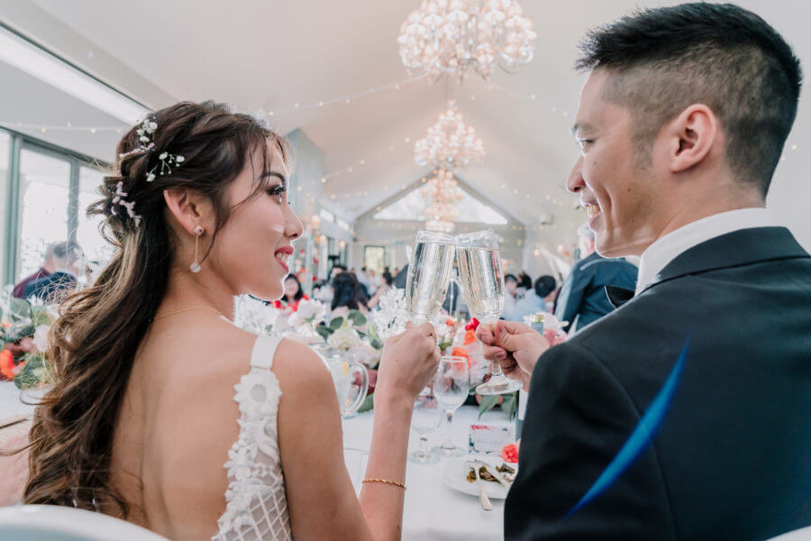 Asian Married Couples Cheers