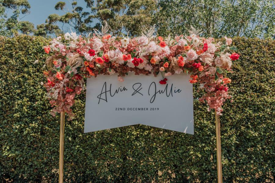 Alvin and Jullie Summer wedding in melbourne