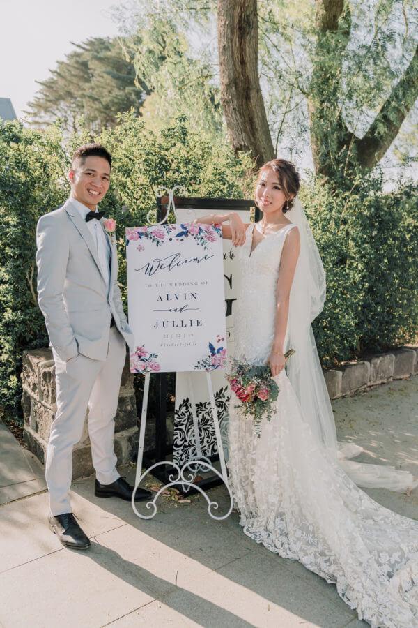 Jullie and Alvin Summer Wedding