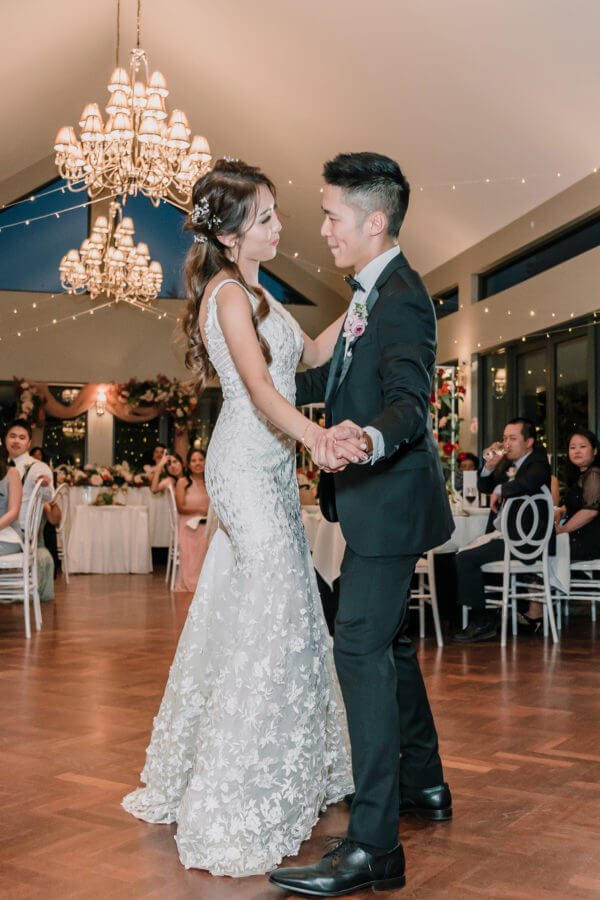 Jullie and Alvin's First Dance as married couples