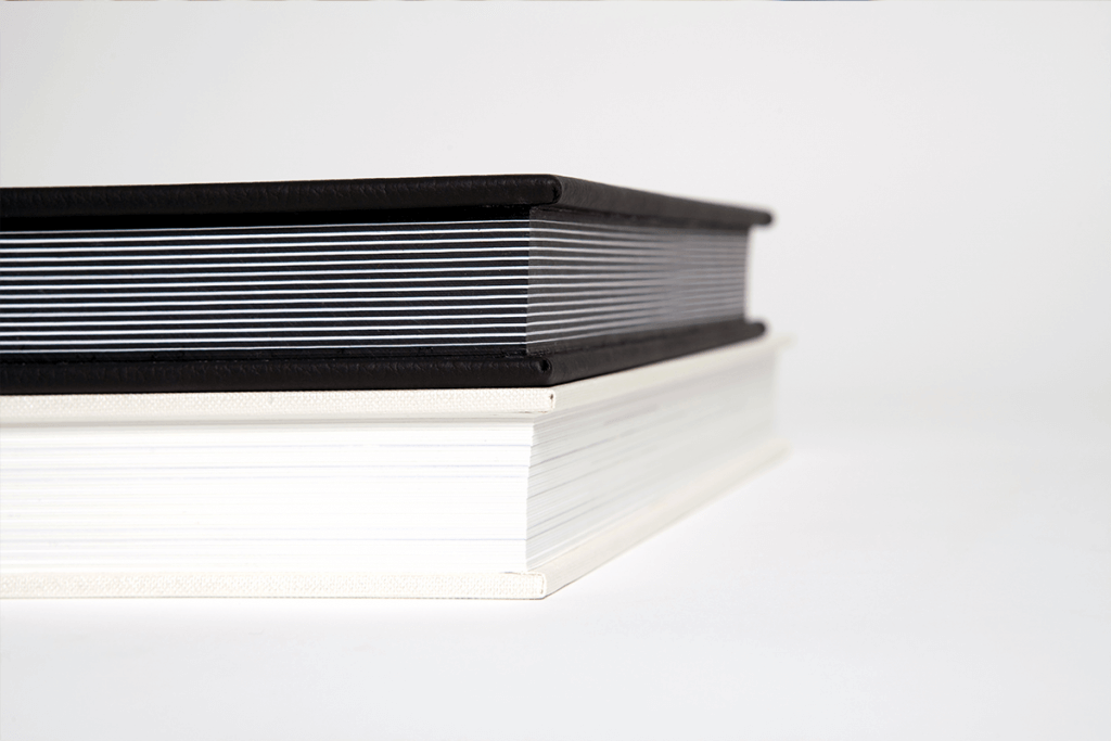black and white emboss design professional wedding album cover