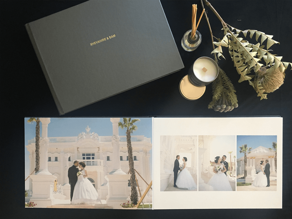 professional wedding albums by black avenue productions
