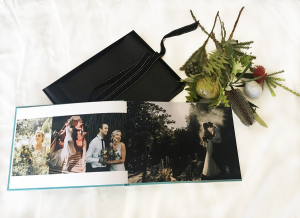black avenue productions printed wedding album