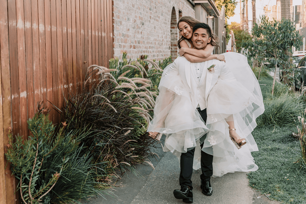 city meets the sea themed wedding in melbourne
