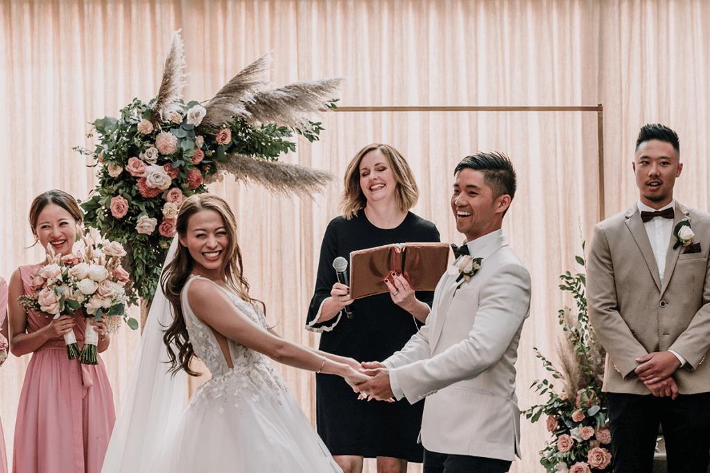 wedding ceremony in melbourne