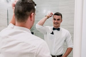 groom attire by Connor shot by Black Avenue Productions
