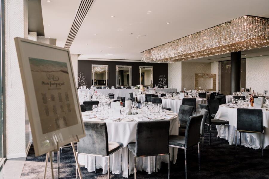 Wedding venue at Brighton Savoy - Weddings designed by Signature Design shot by Black Avenue Productions