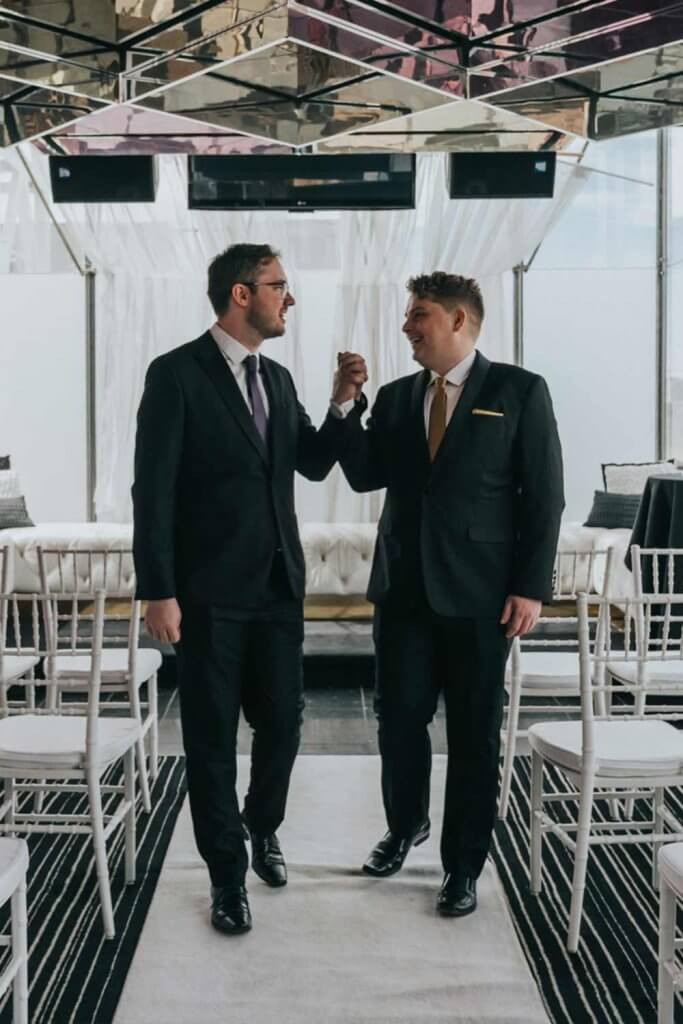 beautiful same sex wedding ceremony photos shot by black avenue productions