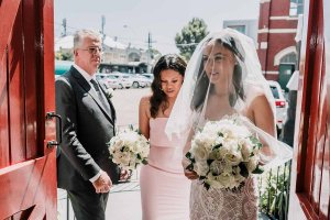 St Brigid's Catholic Church wedding