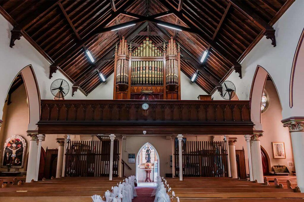 perfect wedding venue in Australia shot by award winning Black Avenue Productions