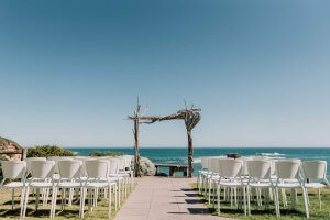best beach wedding venue in Australia shot by award winning Black Avenue Productions