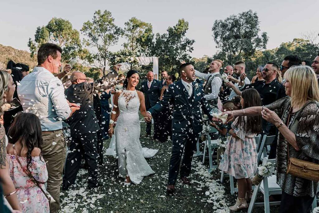 2022 best wedding themes in Australia shot taken by Black Avenue Productions