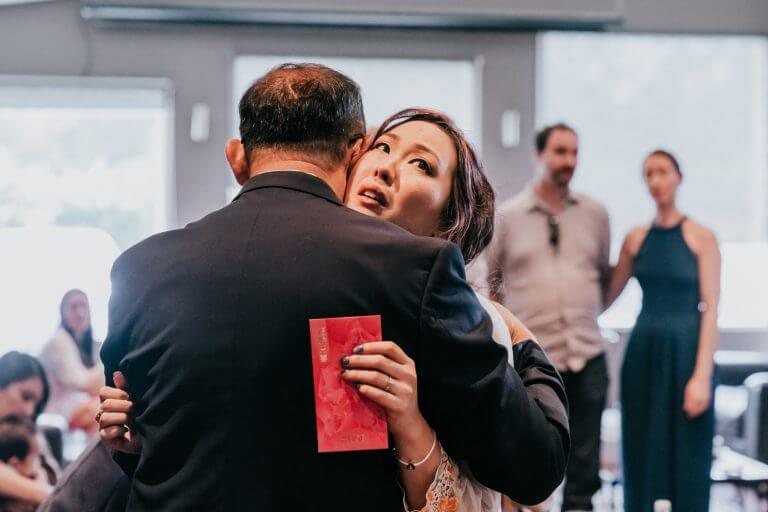 Georgina dancing with her father in her wedding - Black Avenue Productions Blog Image